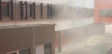 Le feu qui s'est déclaré à midi a été rapidement maîtrisé par les pompiers